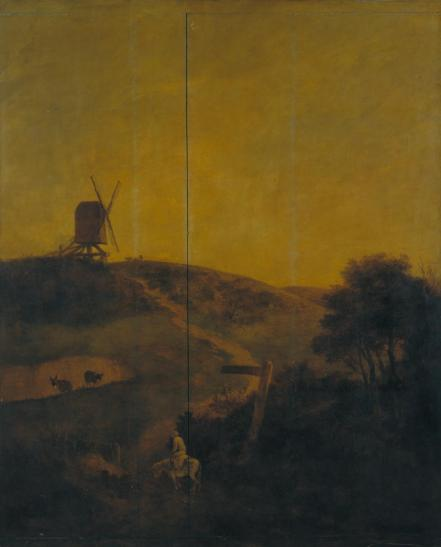 A Windmill near Norwich c.1816 by John Crome 1768-1821