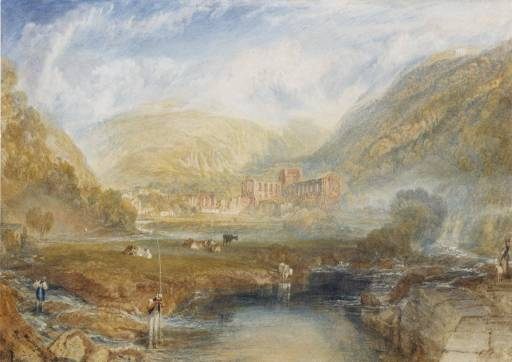 Rivaulx Abbey, Yorkshire c. 1826 Joseph Mallord William Turner